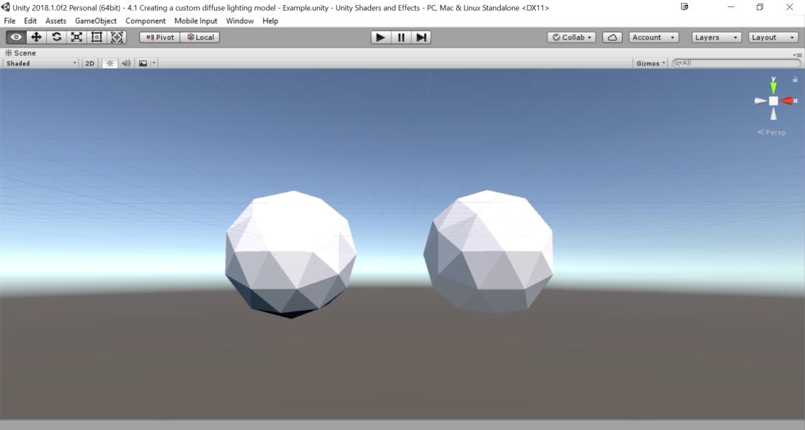Creating a Custom Diffuse Lighting Model in Unity - Tutorial