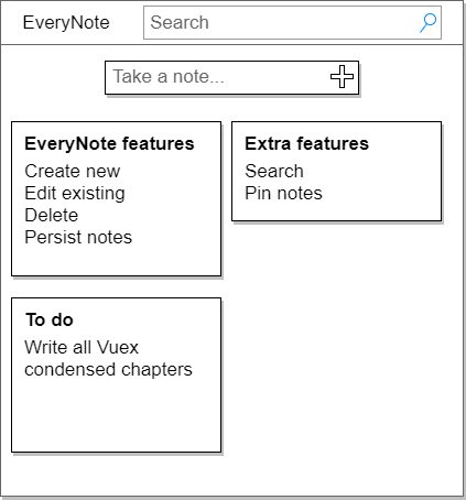 Designing the EveryNote Web App with VueJS and Vuex