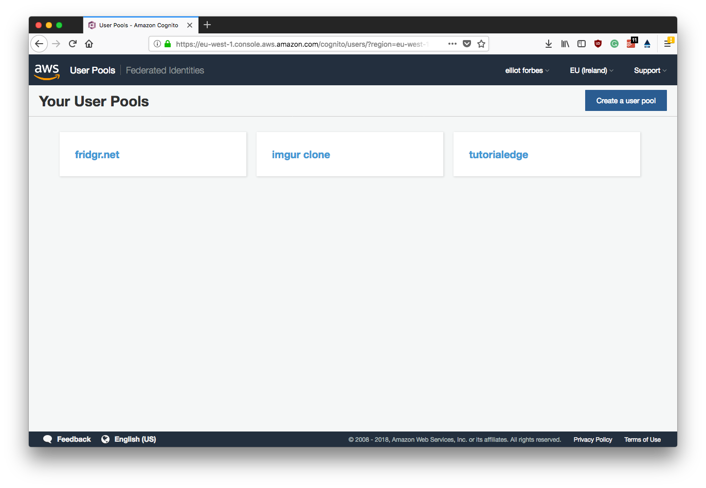 Part 5 - Getting Started With AWS Cognito | TutorialEdge net