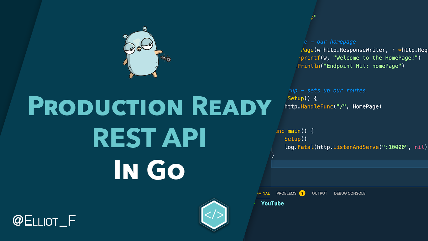 Develop A Production Ready REST API in Go